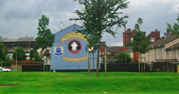 "Mural of Stevie ""Top Gun"" McKeag"
