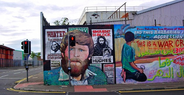 Mural to honour the 1980 hunger strikers