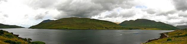 The 'fjord' near Leenaun