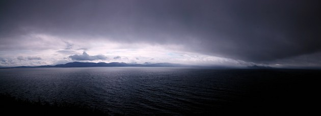 Dark clouds, Inch to Dingle