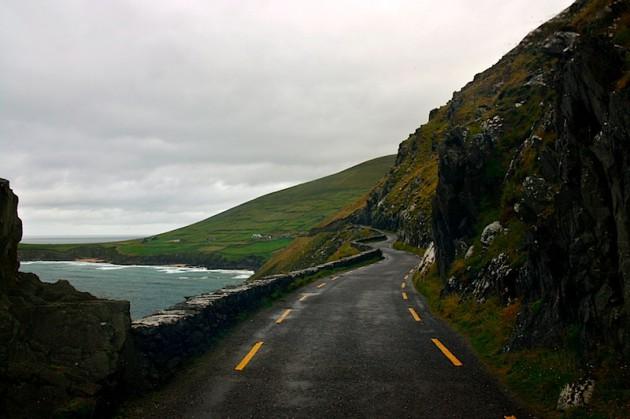 Driving on the Dingle Peninsula
