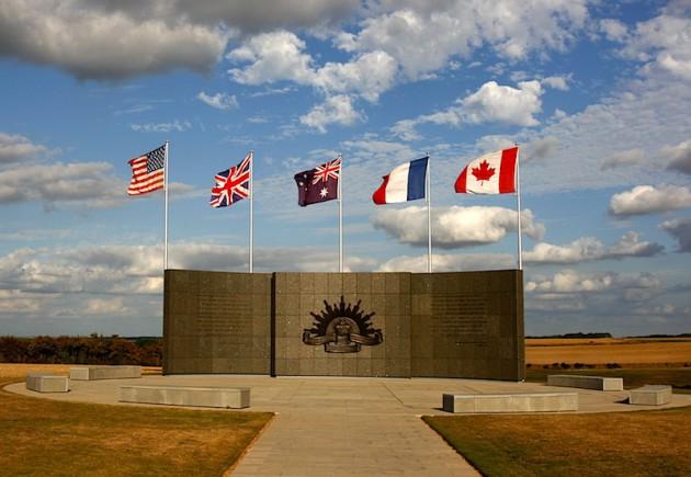 Le Hamel memorial