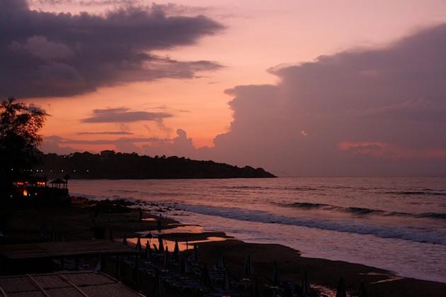 Cefalu sunset