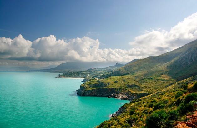 Zingaro coastline