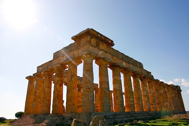 The Temple of Hera, Selinunte