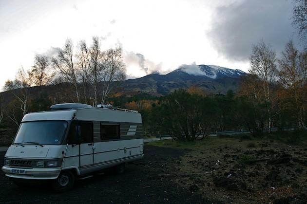 Mount Etna and Nettle