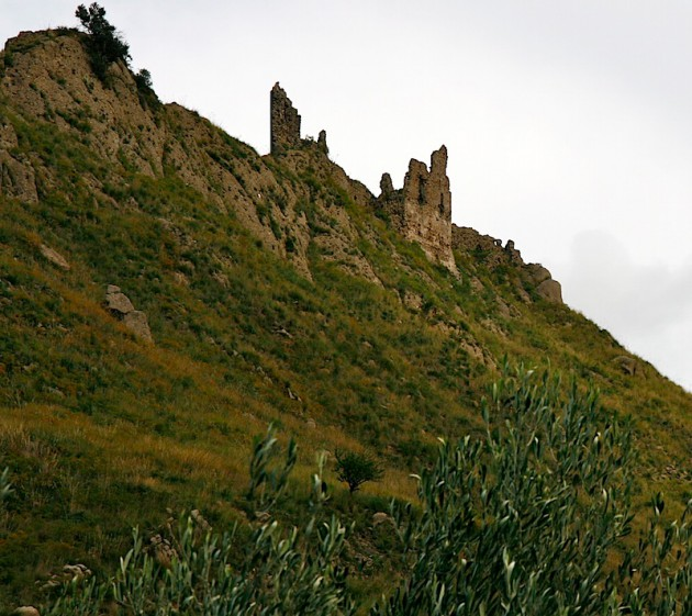 Old ruins atop a hill