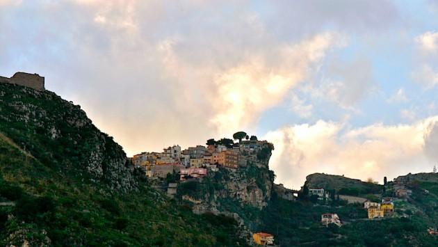 Taormina from below