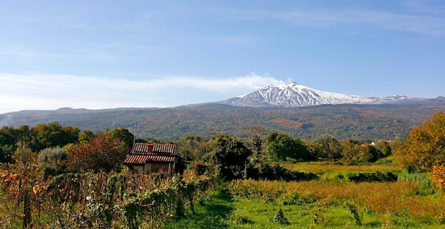 Mount Etna, from Linguaglossa
