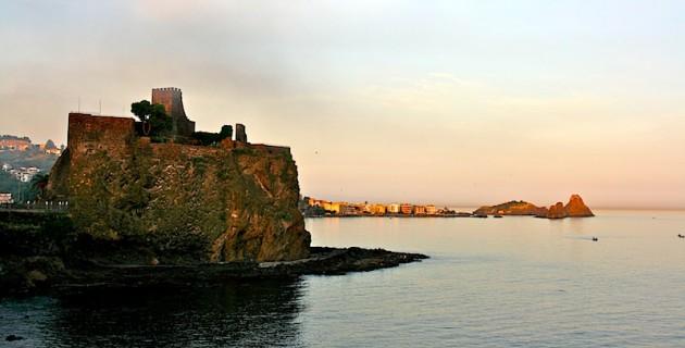 Aci Castello's castle