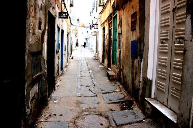 Medina back-alley