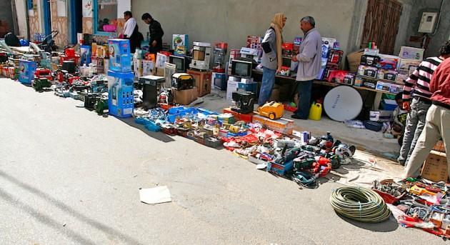 The Douz market