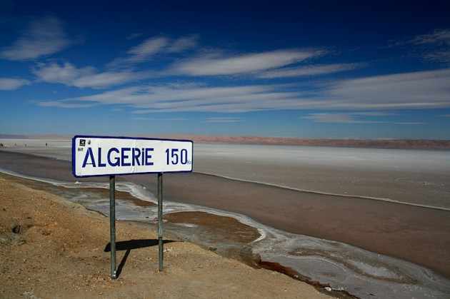150kms from Algeria!