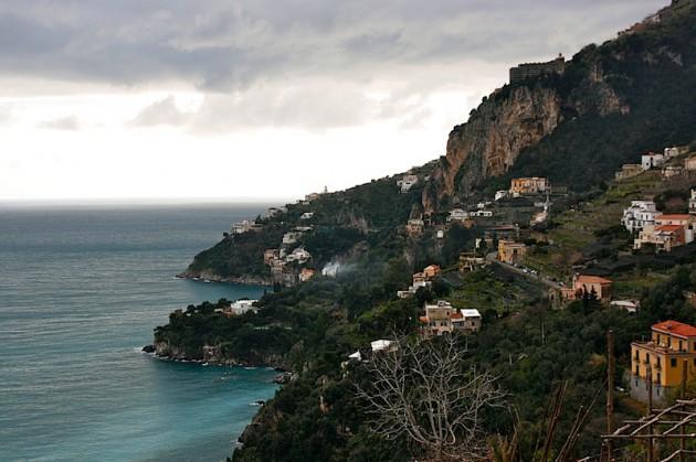 View over the Amalfi coast