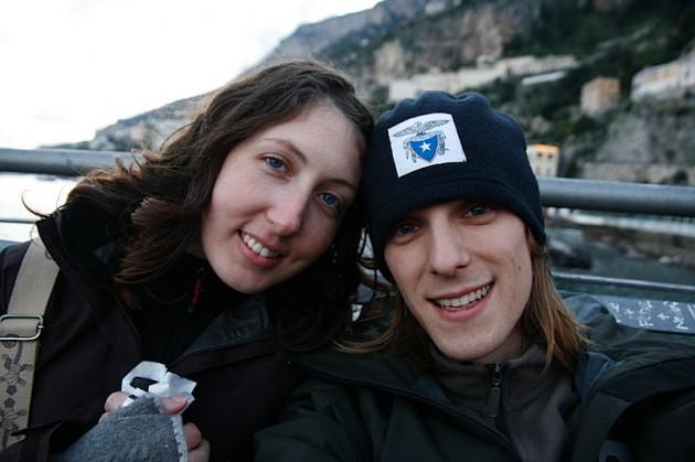 Us in Amalfi