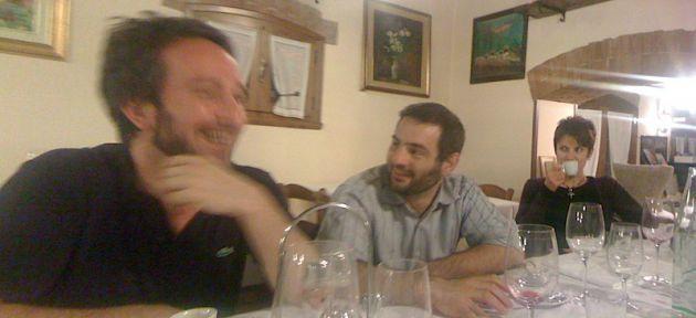 Andrea, Paolo and Silvia