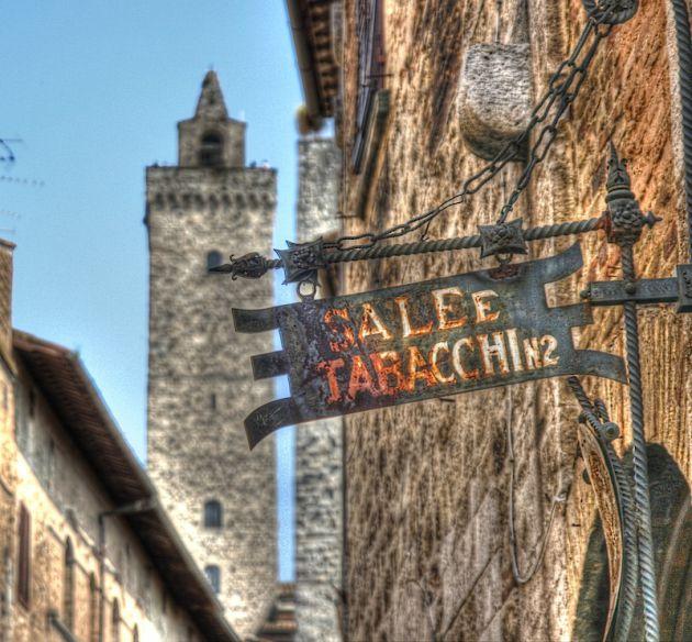 San Gimignano HDR