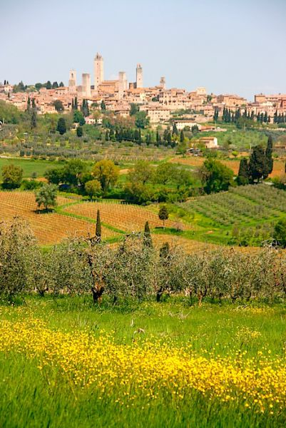 San Gimignano Tuscany HDR
