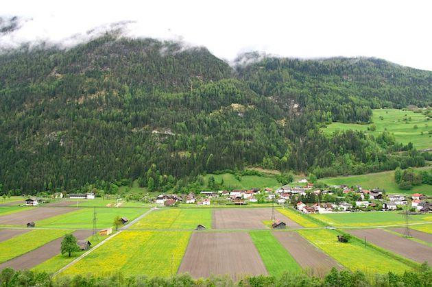 Fields near Nauders