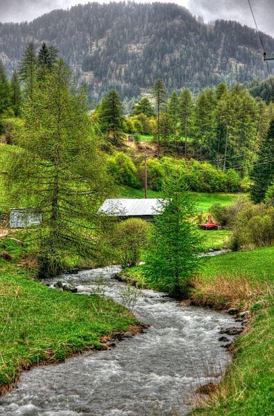 Stream near Nauders, Austria