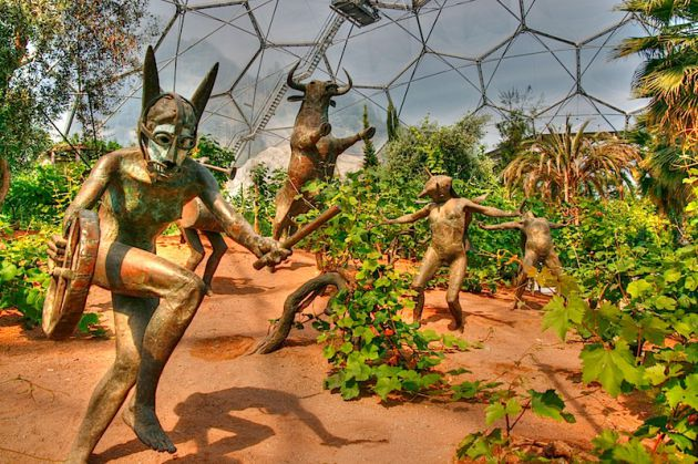 The Eden Project, , , HDR
