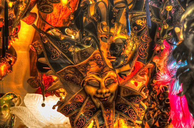 Venetian Carnevale Masks