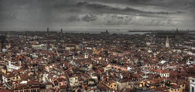 Venice from Above HDR