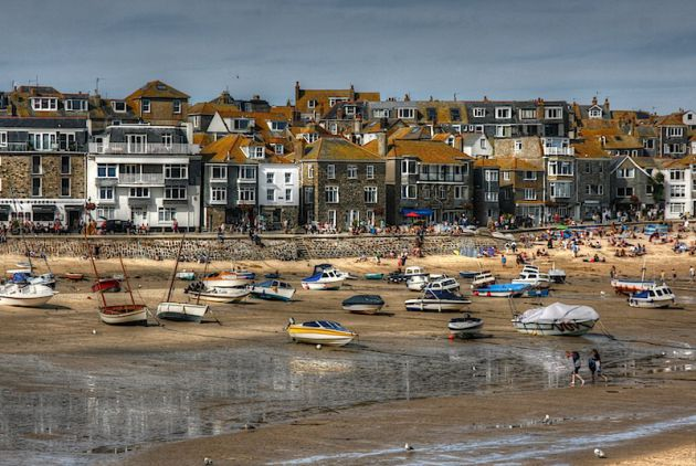 St Ives Cornwall, HDR