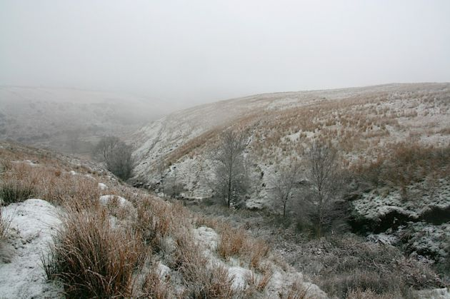 Wales Countryside Snow