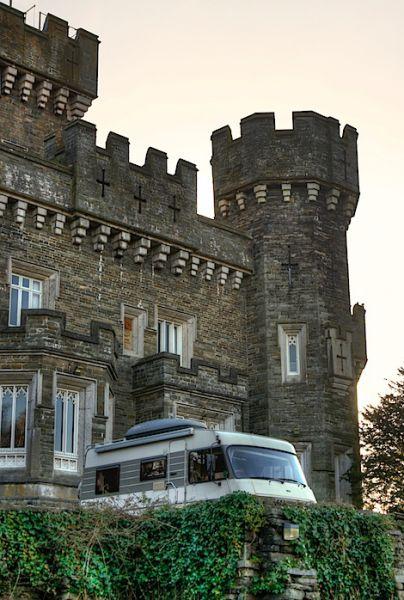 Wray Castle wildcamp
