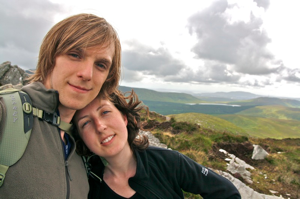 Us at Connemara National Park, Ireland