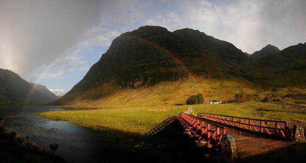 Glencoe rainbow
