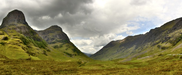 Two of the Three Sisters, Glencoe