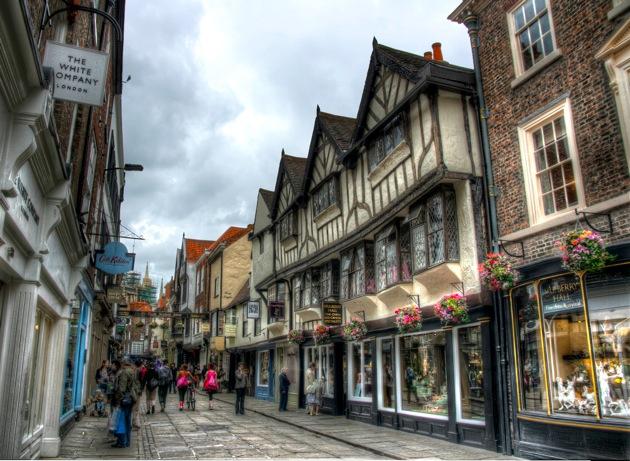 York England Shopping