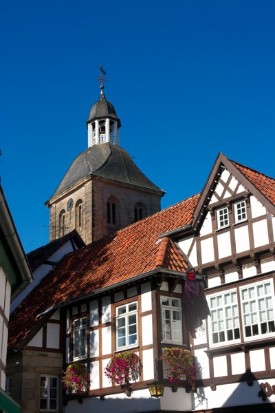 Tecklenburg clock tower