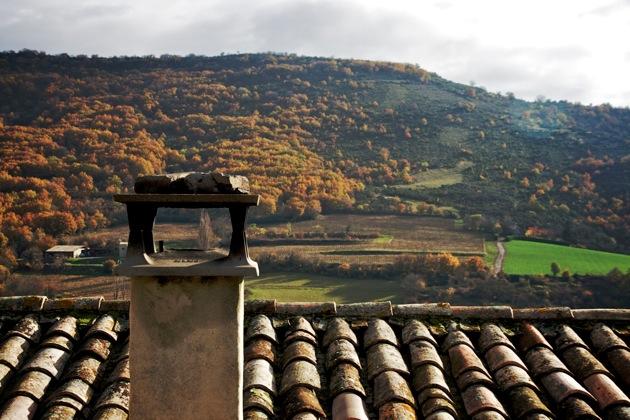 Chimney in Aubignas