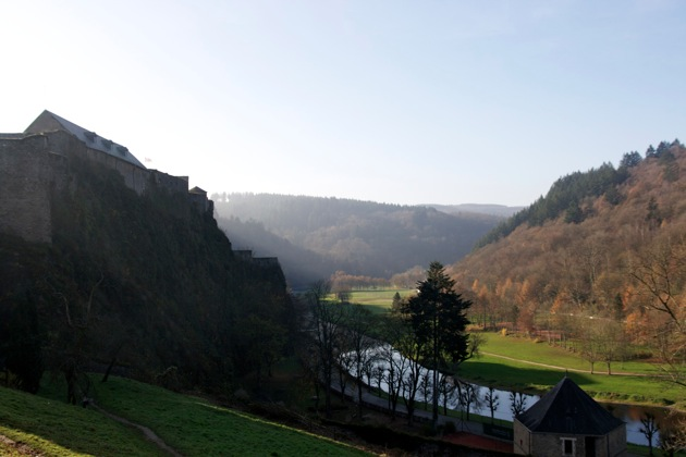 Fort at Bouton and the valley