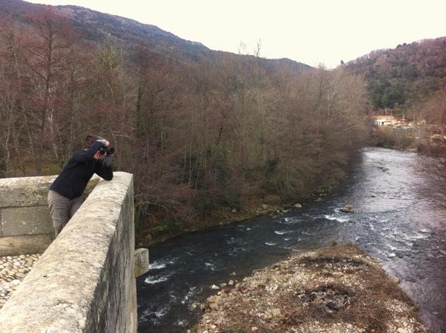River Aude, Alet-les-Bains