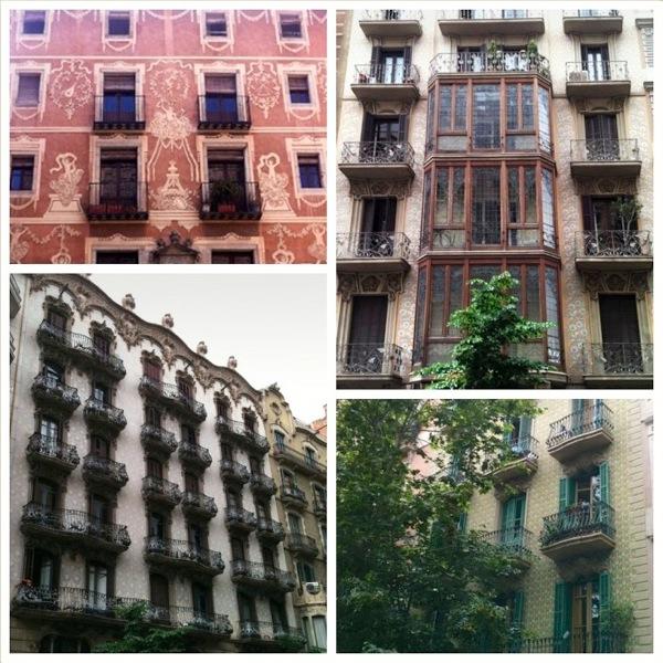 Barcelona Apartments Mosaic