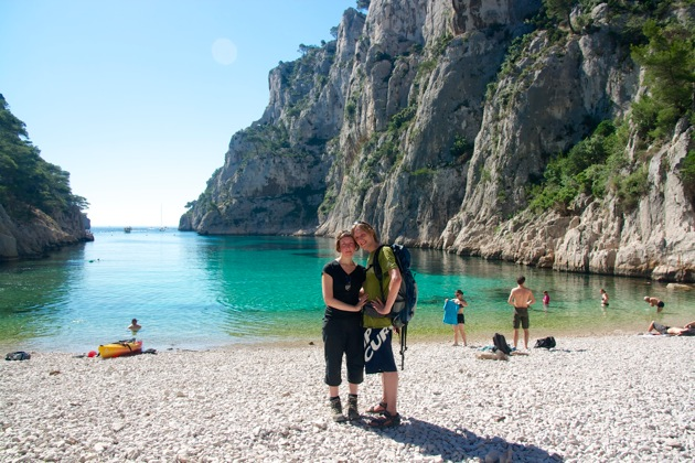 Us at En Veau Calanques